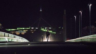 Secret City takes in most of Canberra's big landmarks -