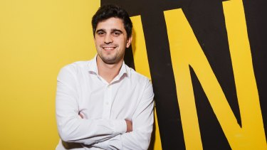 Chief executive of Afterpay Touch Nicholas Molnar has seen his company move inside the ASX 200 before its first year on the boards.