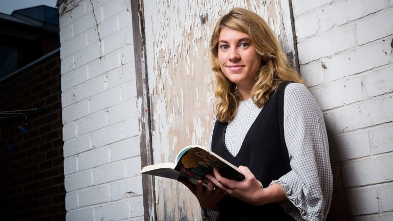 Jennifer Down, author of the novel <i>Our Magic Hour</I>.