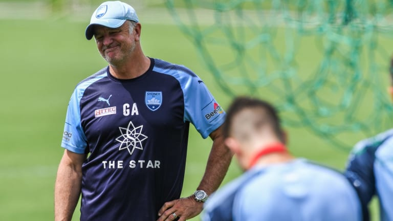 Player decision: Sydney FC coach Graham Arnold is searching for a marquee signing from Asia.
