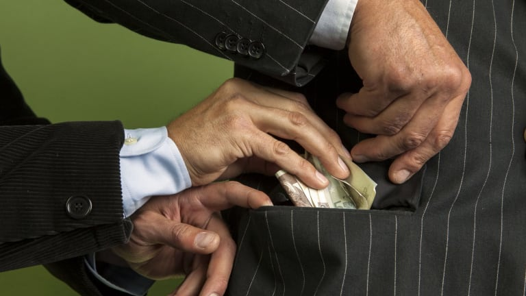 Australia has started slipping down the Transparency International corruption perception index.