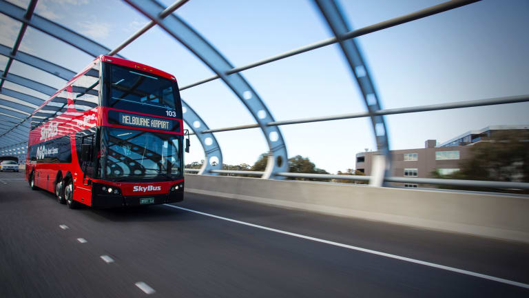 SkyBus won't be travelling to Docklands just yet.