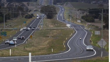 The Geelong-Colac Highway