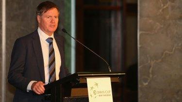 Steve Healy, president of Tennis Australia.