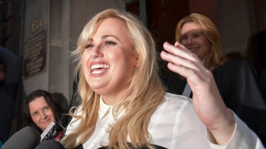 Hollywood actor Rebel Wilson has promised to donate the damages to charity.