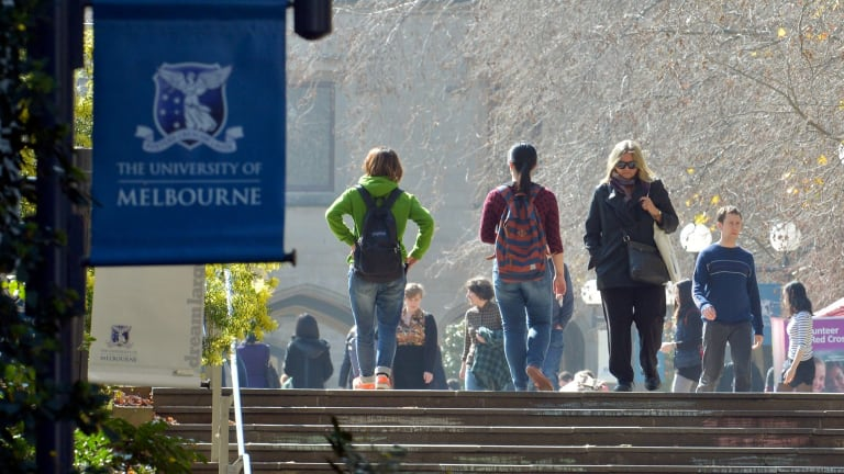 Melbourne University is the highest-ranked university in Australia.