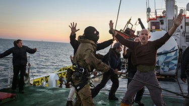 Russian troops boarded and arrested Arctic Sunrise illegally in 2013, a tribunal has found.