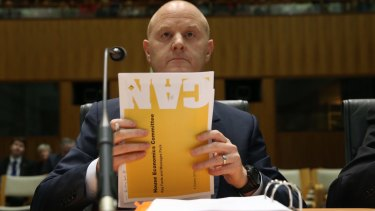 Commonwealth Bank chief executive Ian Narev later apologised for the bank's behaviour.