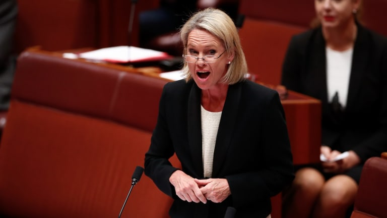 Senator Fiona Nash was disqualified by the High Court.