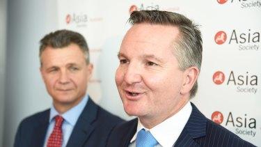 Labor's Shadow Treasurer Chris Bowen