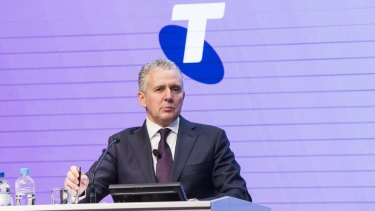 Spending decision was a no-brainer: Telstra CEO Andy Penn at the announcement of the Telco's full-year result on Thursday.