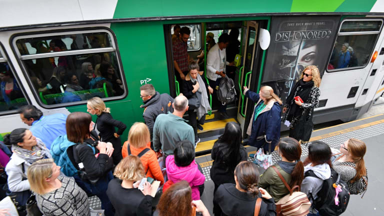 There has been an increase in the number of serious injuries on Melbourne's trams.