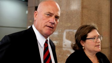 Former Leighton Holdings executive Stephen Sasse alleges corruption.