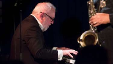 Paul Grabowsky led a powerhouse trio at the Melbourne International Jazz Festival.
