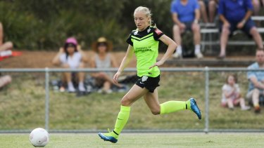 Canberra United's Nickoletta Flannery.