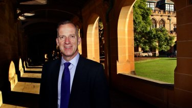 Dr Michael Spence, vice-chancellor of the University Of Sydney, said their strategic plan is unashamedly ambitious.