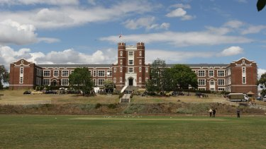 The proposed academy would be built next to Melbourne High School.