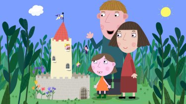 <i>Ben and Holly's Little Kingdom</i> has been a hit for creators Mark Baker and Neville Astley.