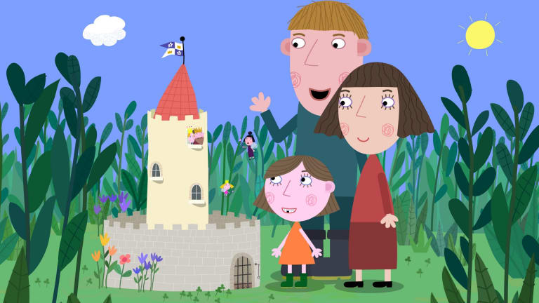 ben and holly s little kingdom meet sarah ann kennedy the voice of