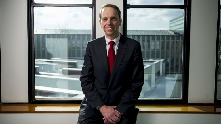 Health and Capital Metro Minister Simon Corbell says light rail commuters could walk an extra three kilometres a day.