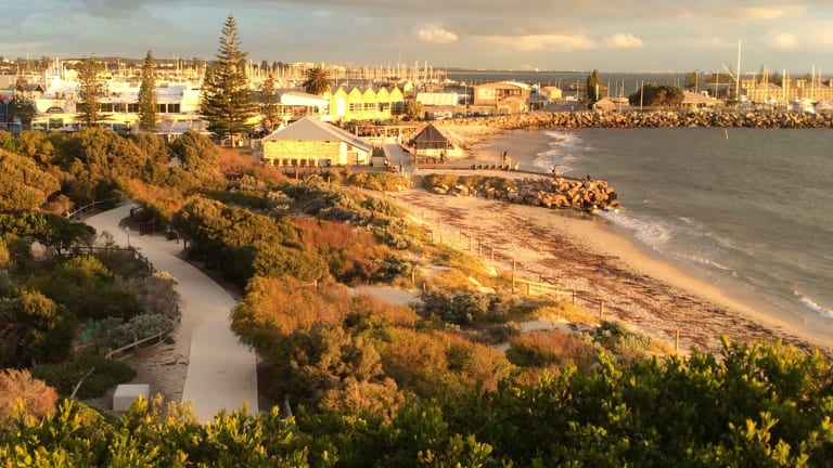 The outlook over bathers beach.
