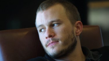Actor Heath Ledger in Melbourne in 2003.
