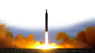 North Korea test fires a missile. The region is on high alert this weekend for another possible launch.