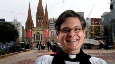 The dean of St Paul's Cathedral, Reverend Dr Andreas Loewe.