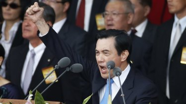 Taiwan's President Ma Ying-jeou has built closer connections with Beijing, but he is expected to be ousted in an election in January.