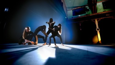 Nyx, a new work from Anthony Hamilton, fuses dance, voice and percussion.