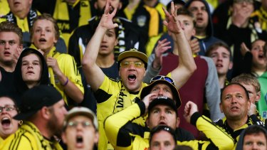 Staying put: Wellington fans will continue to have a team to cheer for.