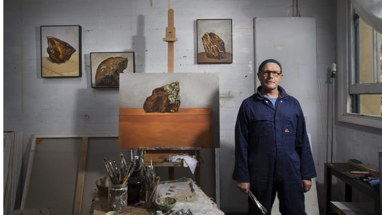Andrew Sayers was the inaugural director of the Portrait Gallery and former director of the National Museum of Australia. He is now working full-time as an artist and is holding his first exhibition with Lauraine Diggins Fine Art.