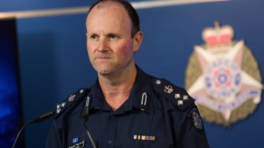 Commander Russell Barrett has condemned a violent crime spree in Melbourne's western suburbs.