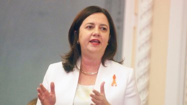 """Premier Annastacia Palaszczuk: """"We recognise the hurt and shame that have been felt by friends and family members and to them we are sorry."""""""
