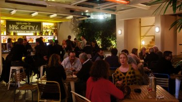 The popular Mrs Sippy bar and restaurant in Sydney's Double Bay.