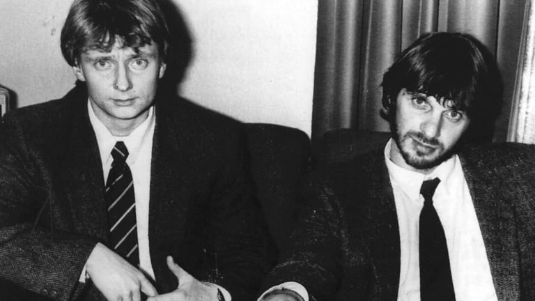 Cor van Hout and Willem Holleeder.