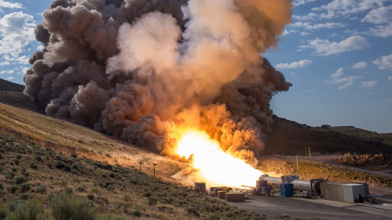 During the Space Launch System flight, these boosters will provide more than 75 per cent of the thrust needed to escape the gravitational pull of the Earth.