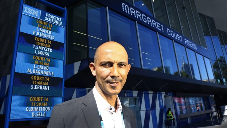 Samir Mahir, CIO of Tennis Australia, wants technology to help drive tennis participation rates all year around.