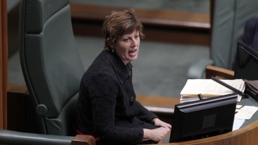 Outgoing Chisholm MP Anna Burke, pictured in 2013 while speaker.
