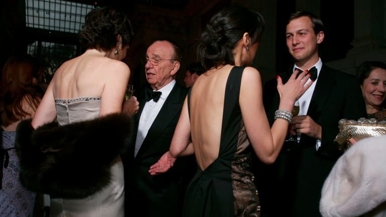 After buying <i>The New York Observer</i>, Kushner sought out Murdoch.