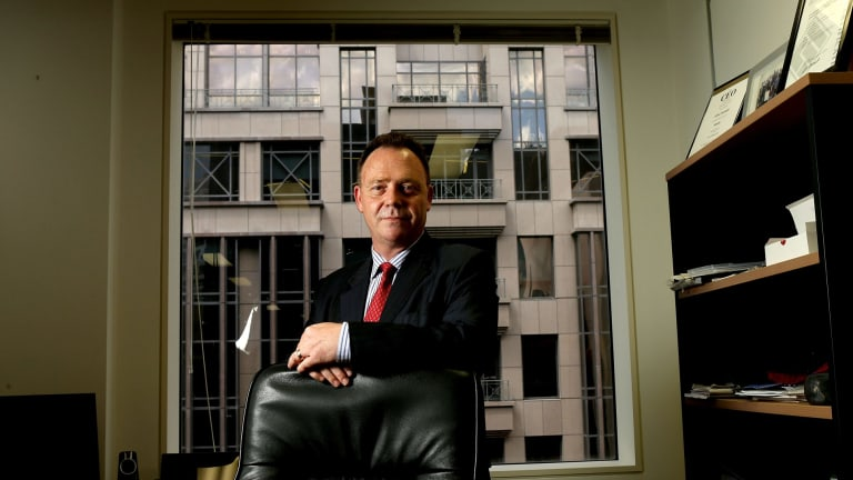 Stephen Burgin, a senior adviser with the InterPrac dealer group of financial planners, spearheaded the idea of using DomaCom to crowdfund the rival bid.