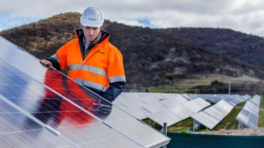 Ninety per cent of households are looking to solar panels.