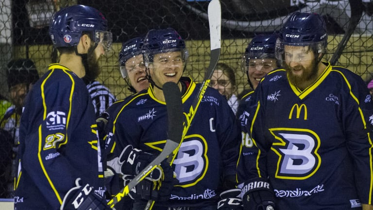 The Canberra Brave fell agonisingly short of a bid for grand final glory.