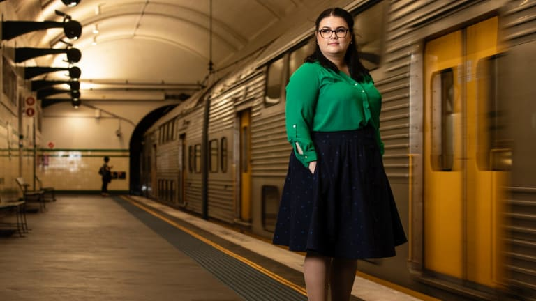 Author Jessica Townsend was inspired by the London Tube when she wrote her debut novel Nevermoor.