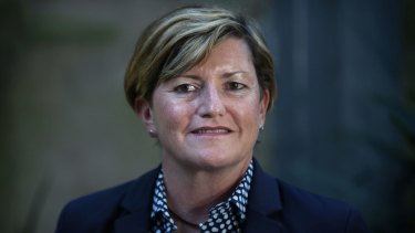 Christine Forster, sister of Tony Abbott.