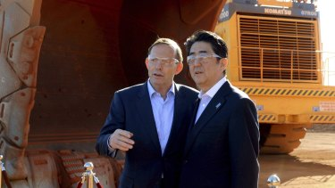Australia's Tony Abbott and Japan's Shinzo Abe are both facing some testing economic questions.