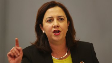 """Queensland Premier Annastacia Palaszczuk: """"Judge Wilson has a remarkable reputation and he will do an absolutely outstanding job."""""""