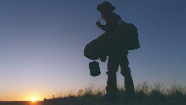 Banjo Paterson's ballad <i>Waltzing Matilda</i> tells the tale of a roaming swagman.