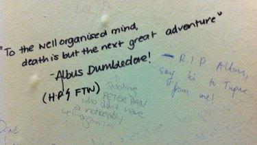 In age of social media saturation, bathroom graffiti offers