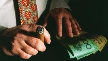 The richest Australians are getting richer.
